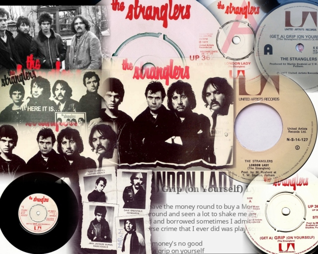 the-stranglers-get-a-grip-on-yourself-united-artists Collage