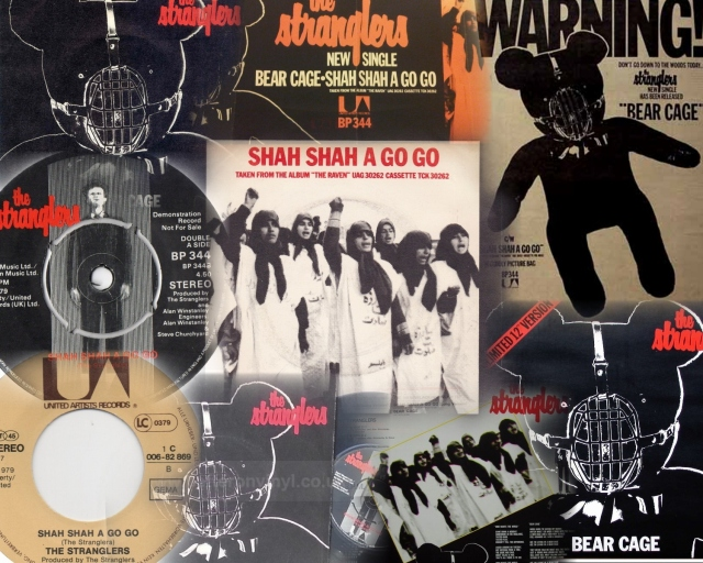 the-stranglers-shah-shah-a-go-go-united-artists Collage