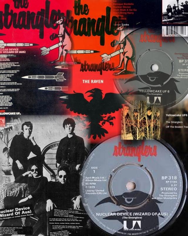 the-stranglers-yellowcake-uf-6-united-artists Collage