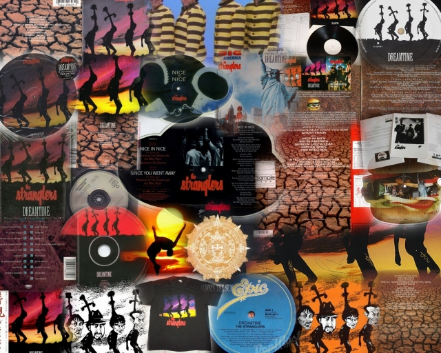 The Stranglers - Dreamtime - Booklet (8-8) Collage